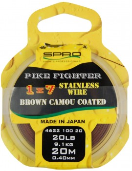 1x7 Brown Coated Wire